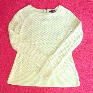 Light American Eagle Sweater with zipper detail